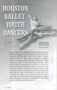 John Henry Houston Youth Dancers